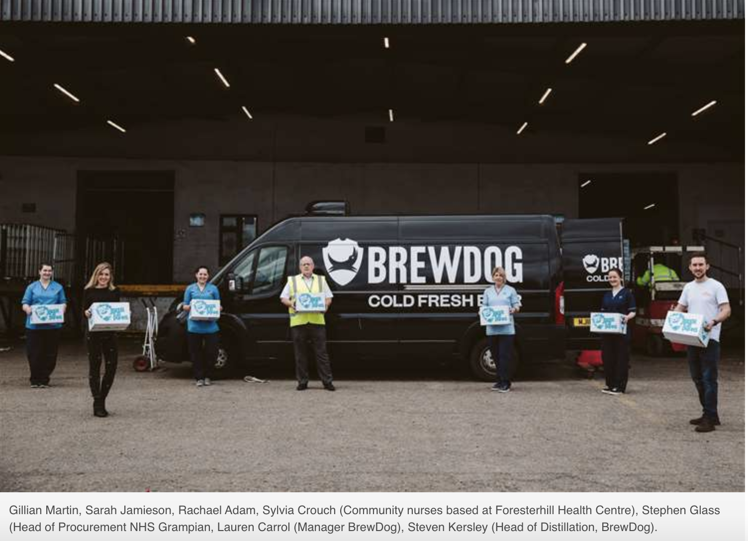 Brewdog create hand sanitiser